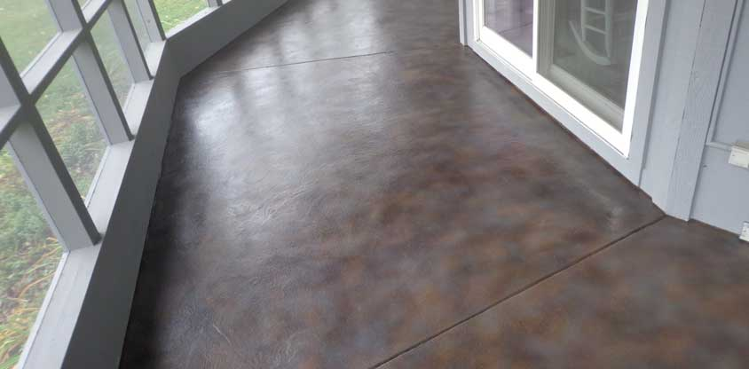 stained-concrete
